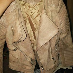 Jackets & Blazers - Suade jacket
